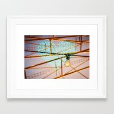 The Idea Of Love Framed Art Print