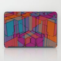 Cube Geometric I iPad Case