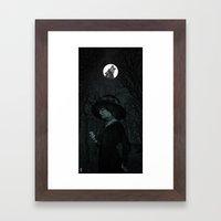 Into The Night Framed Art Print