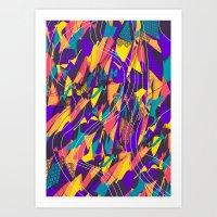 Future Shapes Art Print