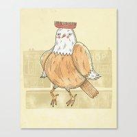 Chicken comb Canvas Print