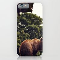 iPhone & iPod Case featuring bear & cub by Katie Pelon