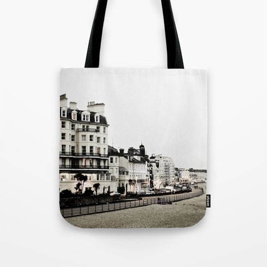 Old sea front Tote Bag