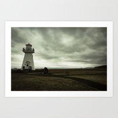 Solitary Lighthouse Art Print
