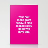 Your Hair Stationery Cards