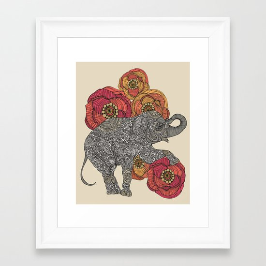 Rosebud Framed Art Print