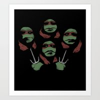 Ninja Rhapsody Art Print