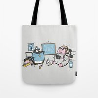 Flight Experiment Tote Bag