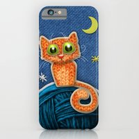 Fabric Cat iPhone 6 Slim Case