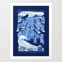 Defend The Wall Art Print