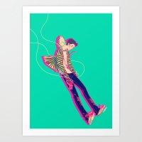 Puppet On A String Art Print