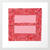 Support Marriage Equalit… Art Print