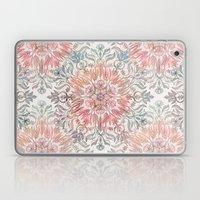 Autumn Spice Mandala in Coral, Cream and Rose Laptop & iPad Skin