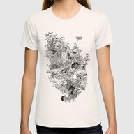 Growth Womens Fitted Tee Natural MEDIUM