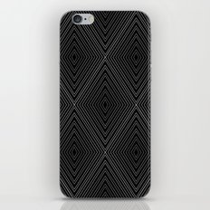 Diamonds (Black) iPhone & iPod Skin