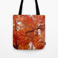 New York City Foliage Tote Bag