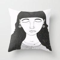 Mim Throw Pillow
