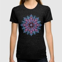 Escapism  Womens Fitted Tee Tri-Black SMALL