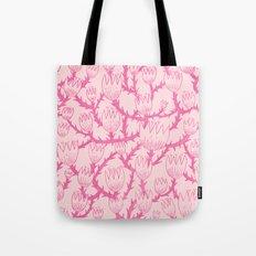 Pink Thorn Tote Bag