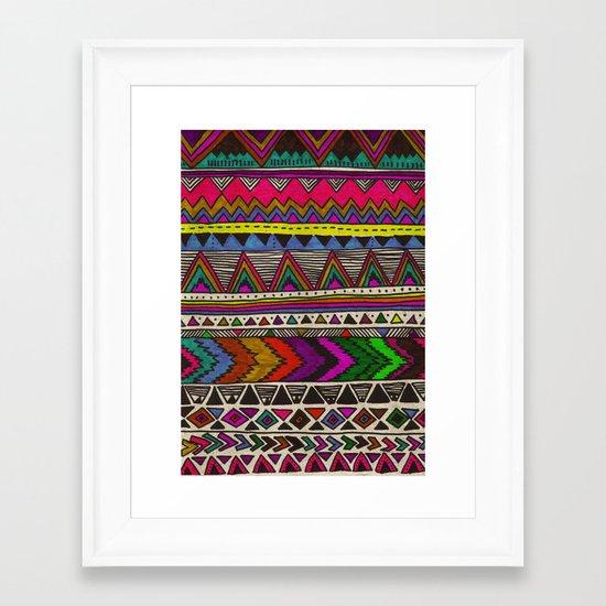 ▲PONCHO ▲ Framed Art Print