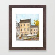 German Bakery Framed Art Print