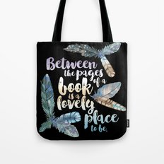 Between The Pages - Feat… Tote Bag