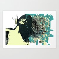 windy Art Print