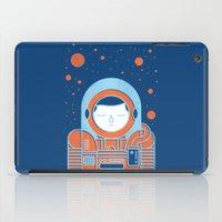 Orange Space iPad Case