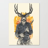 Hunting Season Canvas Print
