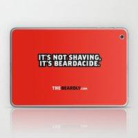 IT'S NOT SHAVING. IT'S B… Laptop & iPad Skin
