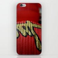 Red Chinese Lanterns iPhone & iPod Skin