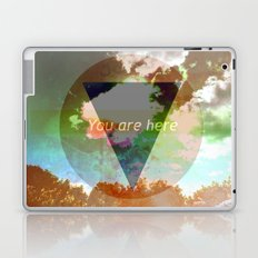 You Are Here Laptop & iPad Skin