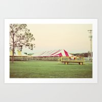 Party At The Farm Art Print