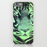 Be A Tiger (Green) iPhone 6 Slim Case