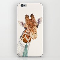 Mr Giraffe iPhone & iPod Skin