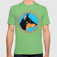 Pharoah Mens Fitted Tee Grass SMALL