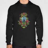Coffin Roses Hoody