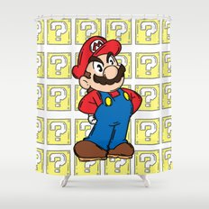 It's A Me Shower Curtain