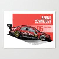 Bernd Schneider - 2006 Hockenheim Canvas Print