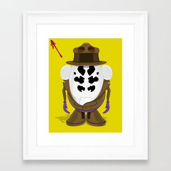 Mr Potato R. Framed Art Print