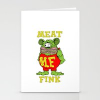 Meat Fink Stationery Cards