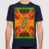 Ayana-Lady Jasmine  Mens Fitted Tee Navy SMALL