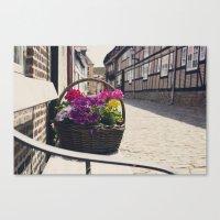 The Basket Canvas Print