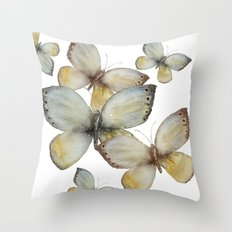 Fall Butterfly Throw Pillow