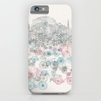 city iPhone & iPod Cases featuring Old Town Bikes by David Fleck