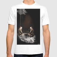 Duo GualaZZi Mens Fitted Tee White SMALL