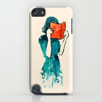 iPod Touch Cases featuring Lost in a book by Budi Kwan