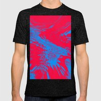 Fire And Ice Mens Fitted Tee Tri-Black SMALL