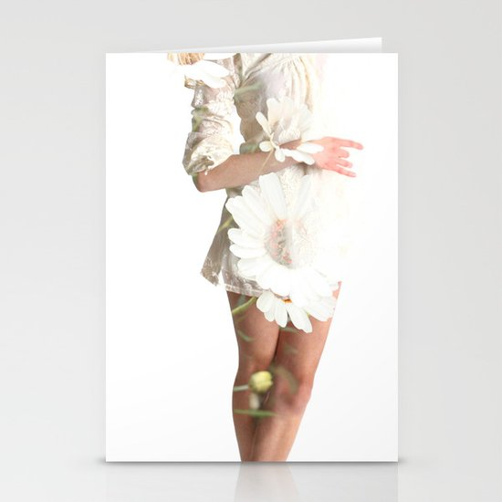 Daisy Dance Stationery Card
