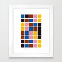 Mylo Xyloto Framed Art Print